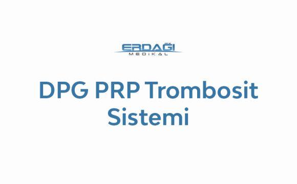 DPG PRP Trombosit Konsantre Sistemi ve Mesomedica Mezoterapi Ürünleri ile Trikolojik Tedaviler